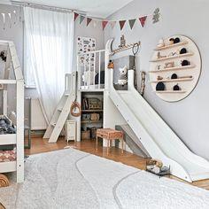 Diy Home Decor Bedroom, Room Decor, Ikea Boys Bedroom, Ideas Habitaciones, Ideas Dormitorios, Toddler Playroom, Kids Bedroom Designs, Kids Room Design, Toy Rooms