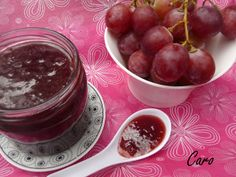 Mermelada de uva Canning Recipes, Kitchen Recipes, Minis, Canning Food Preservation, Salsa Dulce, Jam And Jelly, Ice Cream Desserts, Sweet Sauce, Marmalade