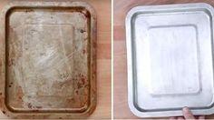 A pékmester elárulta a titkot! Így tudod egyszerűen megtisztítani a foltos sütőedényeket és sütődet - Bekezdés Cleaning Items, House Cleaning Tips, Diy Cleaning Products, Cleaning Hacks, Cleaning Agent, Cleaning Recipes, Uses For White Vinegar, Diy Household Tips, Clean Mama