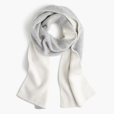 colorblock cashmere scarf by j. crew.