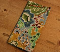 Best Cloth Napkin Tutorial yet- detailed instruction but simple to sew