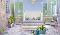 Alfazema bedroom at SIMcredible! Designs 4 via Sims 4 Updates