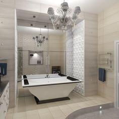 Дизайн интерьера квартиры 135 кв.м в стиле арт-деко фото, Челябинск   Алтоцкий Михаил Маркович