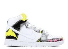 "dunk high prm dls sb qs ""de la soul 2015"" Classic Sneakers, High Top Sneakers, Sneakers Nike, Flight Club, Hip Hop Outfits, Nike Dunks, Air Jordans, Clothing, Shoes"