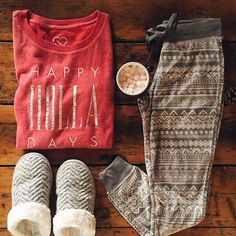 Fall is here so cute warm pijamas are too! Looks Style, Looks Cool, Style Me, Fall Winter Outfits, Autumn Winter Fashion, Aeropostale, Look Girl, Winter Looks, Winter Wardrobe