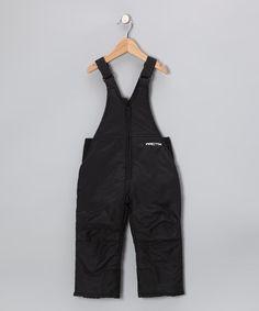Black High-Chest Bib Pants - Toddler & Kids by ARCTIX $12.99 #winter #snow #gear