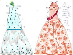 PAPER DOLL EVE: A GIRL DREAMS~: Conga dancer costume, Lambada skirt ...