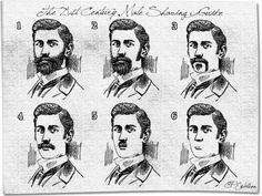 Classic shaving styles for the modern gentleman .