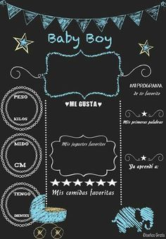 backdrops for parties Baby Shawer, Baby Born, Baby Shower Games, Baby Boy Shower, Scrapbook Bebe, Baby Frame, Diy Bebe, Foto Baby, Birthday Chalkboard