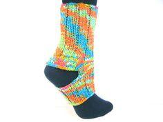 Yoga Socks, Knit Socks, Knitwear, Yoga Clothing, Shoe Accessory, Pedi Socks,  Ballet Socks, Washable Wool Blend, BootCuffs sur Etsy, $31.86 CAD