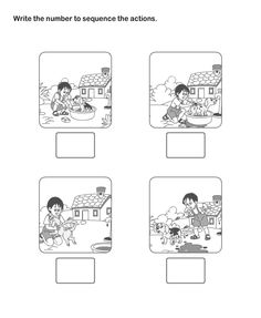 Story Sequencing Worksheets for Kindergarten. 20 Story Sequencing Worksheets for Kindergarten. Sequencing Worksheets for Kindergarten Story Sequencing Worksheets, Sequencing Pictures, Free Kindergarten Worksheets, Sequencing Activities, Writing Worksheets, Worksheets For Kids, Printable Worksheets, Sequencing Events, Printable Art