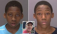 Boys, 15, charged with killing dog-walker in botched robbery