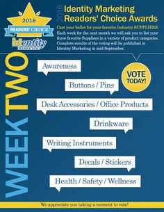 Different Categories Means Different Favorites This Week! Who Are Yours?