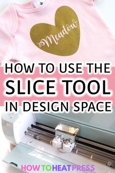 cricut vinyl projects If you haven't tried using Cricut's slice tool in Design Space yet then you've been missing out! There are a number of great designs you can make. The main t Cricut Heat Transfer Vinyl, Iron On Cricut, Cricut Iron On Vinyl, How To Use Cricut, Cricut Help, Cricut Air, Cricut Explore Projects, Vinyl Projects, Circuit Projects