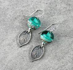 Boucles d'oreilles en argent 925 Acqua  Perles par Unventdeliberte, €27.50