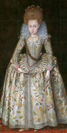 Robert Peake The Elder - Princess Elizabeth (1596–1662), Later Queen of Bohemia