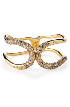 Alexis Bittar 'Miss Havisham' Crystal Hinged Cuff (Nordstrom Exclusive) available at #Nordstrom