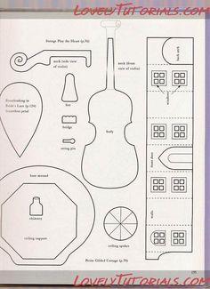 МК скрипка из мастики - fondant(gumpaste) violin tutorial - Мастер-классы по украшению тортов Cake Decorating Tutorials (How To's) Tortas Paso a Paso