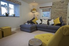 Hillfield Farmhouse - cosy sitting room