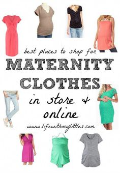 e05f527a1b9 The Best Places to Shop For Maternity Clothes (In Store and Online!)   Awesome stores and sites to shop at so you can still look cute when  pregnant!