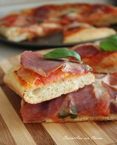 Impasto base per pizza alta e soffice |CuciniAmo con Chicca