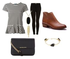 """""""Untitled #39"""" by courtney-faith-5 on Polyvore featuring Topshop, Polo Ralph Lauren, Bourbon and Boweties, Kendra Scott, Splendid, MICHAEL Michael Kors, women's clothing, women's fashion, women and female"""