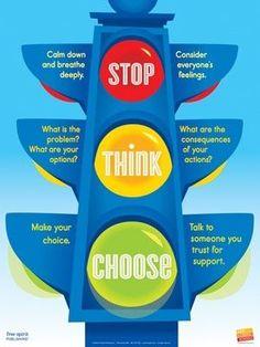 stop, think, choose for impulsive kids by tamara