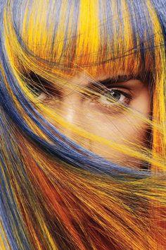 makeupyourmood: hair color    Aveda