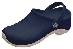AnyWear Women's Zone Clog, Navy, 7 M US  Molded removable insole