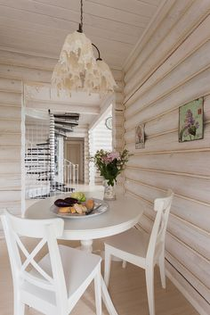 Фотографии реализованного проекта загородного дома. - Интерьер как он есть