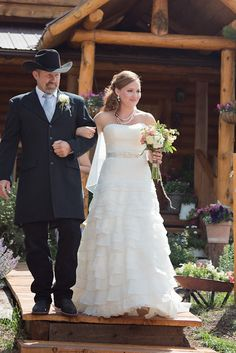 Rustic Chic Country Wedding Father of the Bride