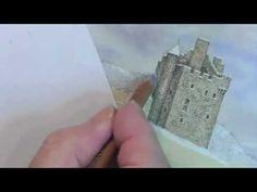 Castle in the Snow Tutorial - Pastel Pencils - Sneak Peek