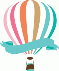 Silhouette Design Store - View Design #77168: hot air balloon