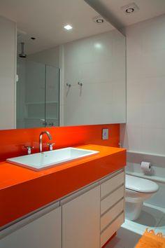 bancada de silestone / Banheiros decorados: escolha o seu #hogarhabitissimo