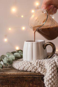 Creamy Almond Milk Hot Chocolate for Fall Snacks Apple Tea Cake, Cinnamon Tea Cake, Lemon Tea Cake, Hot Chocolate With Almond Milk, Chocolate Tea Cake, Homemade Tea, Homemade Cake Recipes, Tea Cake Cookies, Afternoon Tea Cakes