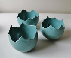 Ceramic candle holder for tealights, turquoise. Medium size