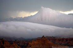 weather 2, fog storm over badlands, by Mike Hollingshead at extremeinstability