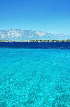 Cleopatra Island. Turkey.