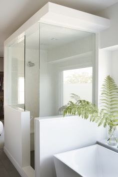 Master Bathroom | Westlake Residence, Austin, TX | by Sanders Architecture