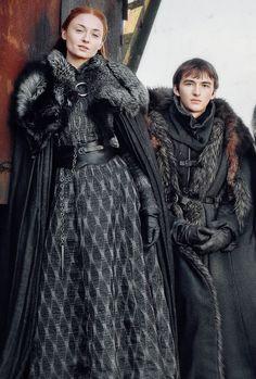 Sansa & Bran Stark (GoT S7)