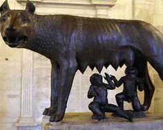 The icon of Rome's foundation, a life-size bronze statue of a she-wolf with two human infants suckling her, is about 1,700 years younger than its city, Rome's officials admitted on Saturday. The official announcement, made at the Capitoline Museums, where the 30 inch-high bronze is the centerpiece of a dedicated room, quashes the belief that the sculpture was adopted by the earliest Romans as a symbol for their city.