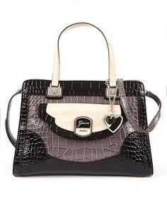 GUESS Handbag, Newlyn Small Satchel - Guess - Handbags & Accessories - Macy's