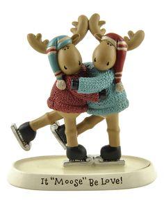 Moose Be Love Moose Couple Figurine (Set of 2)