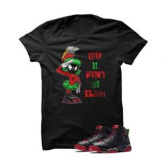 """Do It For My Team Marvin The Martian 2 Black T Shirt. The Do It For My Team Marvin The Martian Black T Shirt is a premium quality sneakerhead t shirt. It matches with the Air Jordan 7 Retro """"Marvin The Martian"""" Sneakers.***************************************************************illCurrency is a premium quality custom streetwear and sneakerhead clothing brand. For custom t shirts email: orders@illcurrency.com***************************************************************FOLLOW US ON…"""