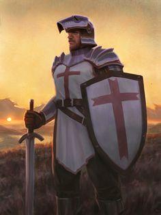Crusader, Alexis Somes on ArtStation at https://www.artstation.com/artwork/Yg0GX