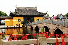 Zhujiajiao water town near Shanghai