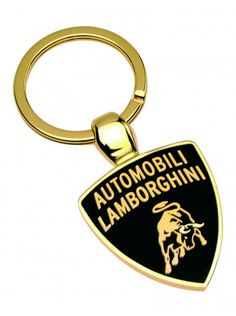 The Lamborghini Veneno - Super Car Center Lamborghini Veneno Gold, Lamborghini Store, Designer Caps, Key Chain Rings, Key Chains, Shield Logo, The Black Keys, Automobile, Personalized Items