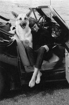Françoise Sagan: French writer - Bonjour Tristesse; Armiez vous Brahms; Un Certain Sourire.  Born Francoise Quoirez  on 21/6/1935 changed name when father objected to family name being sullied by books.  Married Guy Schoellar a publisher 2 decades older on 31/3.1958 divorced June 1960. Married Robert Westhof an American artist in 1962 divorced 1963,  Son Dennis was born June 1963. Died 24/9/2004 from Pulmonary embolism.  Aged 69.