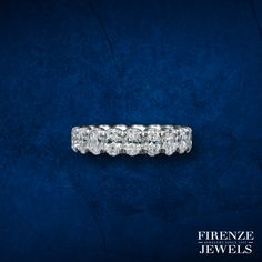 This gorgeous platinum eternity wedding band ring, features 19 round brilliant cut white diamonds of F color, clarity and excellent cut and brilliance, weighing carats total. Wedding Rings For Women, Wedding Ring Bands, White Diamonds, Band Rings, Bling Bling, Diamond Jewelry, Great Gifts, Jewels, Live