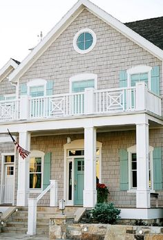 Gray White Aqua Exterior House Colors Grey Siding For Houses